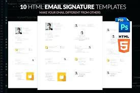 Template Email Outlook Microsoft Outlook Signature Template