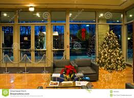 christmas decorations for office. Christmas Tree In Office Lobby Decorations For