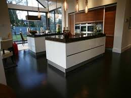 Dark Laminate Flooring In Kitchen B Q Dark Oak Effect Laminate Flooring All About Flooring Designs