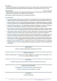 ... Resume Example Electrical Engineer Resume Template p3