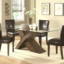 modern rectangular glass dining table set room black plywood chair with back modrest crawford moder modern rectangular glass dining table and chairs