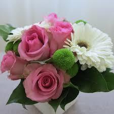 gerberas and roses image