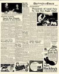 Buccaneer Stadium Corpus Christi Seating Chart Corpus Christi Times Archives Nov 7 1947 P 17