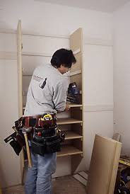 once all dividers and cleats are secured start installing the shelving always begin with the shelves nearest to the floor or your nail might not fit