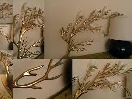 wall art designs wall art sculpture rare vintage bijan brass tree regarding most cur 3d