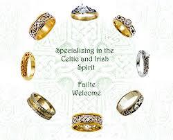 celtic irish knot wedding rings bands
