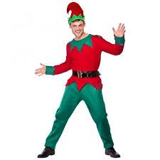 Mens Elf Deluxe   Adult Costume