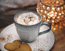 cup of hot chocolate with whipped cream. Perfect Hot House Doctor Cup With Hot Chocolate Cream And Mini Marshmallows  Varm  Choklad For Of With Whipped Cream