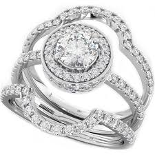 3 Piece Wedding Ring Sets For Her Wedding Ideas