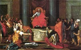 Картина Н Пуссена Суд Соломона описание Искусство Реферат  Н Пуссен Суд Соломона 1649 г Лувр Париж