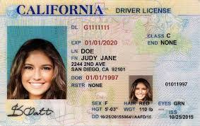 California Google Id Drivers Template For Test Dmv Permit Result Practice 2017 Image Test License