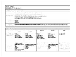 K 12 Lesson Plan Template Daily Lesson Plan Template Word Deped K12