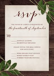 Rsvp Card Sizes Wedding Reply Magdalene Project Org