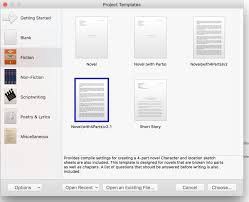 Scrivener Resume Template Scrivener Resume Template Resume For Study 3