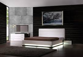 Modern Bedroom Black And White Furniture Cool Picture Of White Bedroom Furniture Design And