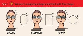Oblong Face Shape Stock Illustrations 73 Oblong Face Shape