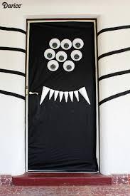 Classroom door decorations for halloween Spooky Spiderhalloweendoordecorationdarice2 Darice Blog Halloween Door Decorations Diy Silly Spider Darice