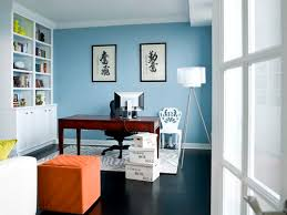 ... Stunning Office Interior Paint Color Ideas Water Front In The Windy  City Transitional Home Office Wall ...