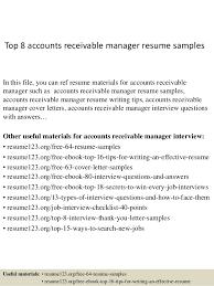 40 Account Receivable Resume Samples Payroll Slip Cool Account Receivable Resume