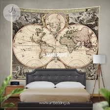 il xn dvk x cool old world map wall art