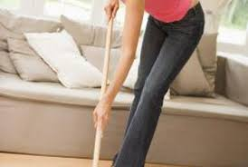 vinegar and water is one way to disinfect wood floors