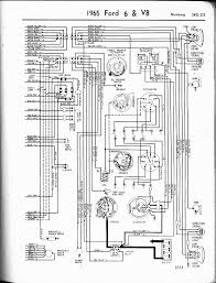 57 65 ford wiring diagrams 1965 6 v8 mustang right