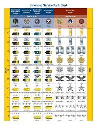 Armed Services Ranks Chart Us Military Rank Chart Pdf Bedowntowndaytona Com