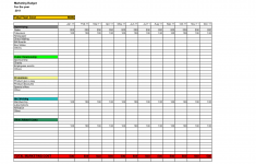 Excel Examples Xls Financial Spreadsheet Example Yearly Budget Coordinated Kate