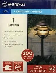 westinghouse landscape lighting westinghouse hi intensity led landscape lighting set