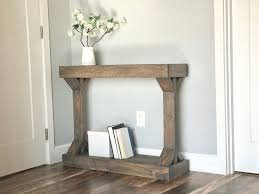 narrow console table modern farmhouse