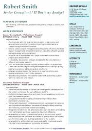 Agile Business Analyst Resumes It Business Analyst Resume Example Summary Mmventures Co