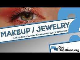 should christian women wear makeup or