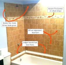 replace tile in shower replacing shower floor tile replace tile in shower full image for cost