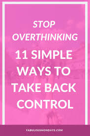 Overthinking Quotes 81 Images In Collection Page 1
