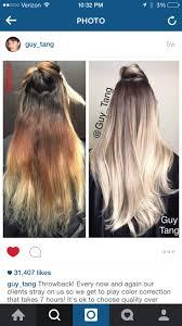 Guy Tang Blonde Color Correct Balayage