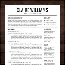 Free Modern Downloadable Resume Templates Free Resume Templates For Word 2018 Ladylibertypatriot Com