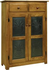 Amish Cabinet Doors Pine Wood Pie Safe With Tin Doors From Dutchcrafters Amish Furniture