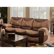 catnapper portman reclining sofa in saddle and chocolate 1961235244230709