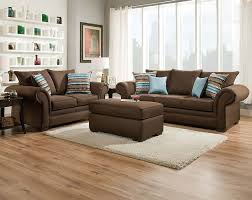 Living Room Color Combinations With Brown Furniture Chocolate Brown Couch Set Jitterbug Cocoa Sofa And Loveseat