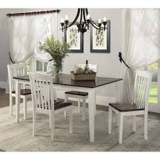 Offers Rustic Kitchen Table Sets Of New Black Dining Style Farmhouse