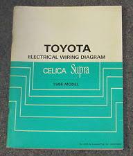 toyota supra wiring diagram 1986 toyota celica supra electrical wiring diagram service manual