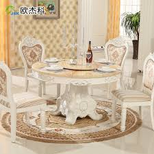 compare s on round marble dining table ping antique white kitchen table