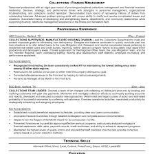 Collector Resume Examples Collection Resume Examples shalomhouseus 3