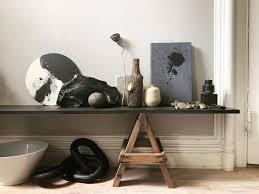 "Hilary Robertson on Instagram: ""Saturday shelfie featuring charcoal chain.  Heap it, hang it, drape it! @mybloomist #she… | Shelfie, Decorative  accessories, Hanging"