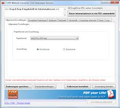 html in pdf umwandeln