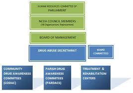 Parish Council Organizational Chart In Jamaica Background