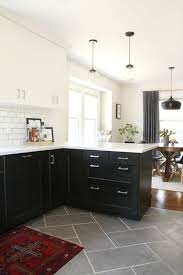 modern tile floors. Delighful Modern Kitchen  Modern Tile Best Pics Floor With And Flooring Dark White In Floors T