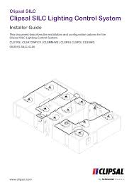 Clipsal Light Switch Wiring Guide Installation Instructions Clipsal Silc Lighting Control