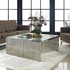 modern coffee table decor variety available metallic coffee table complement decor finished premium coating about modern coffee table