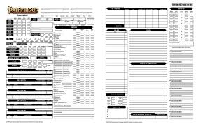 Pathfinder Level Chart Creating A Character Using The Pathfinder Roleplaying System